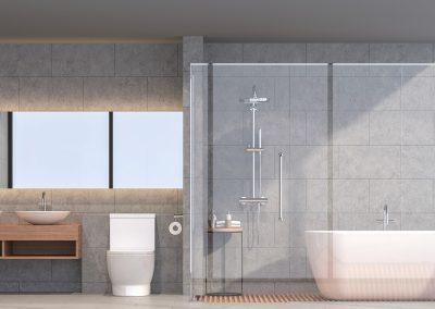 fabrication et installation de cabine de douche en verre sur mesure à Montréal et Laval / Porte et Fenêtre Montréal